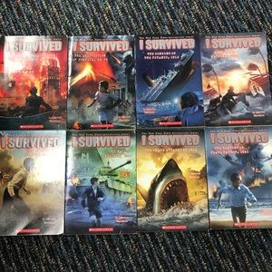 I Survived books - 8 books -  Bestselling Series
